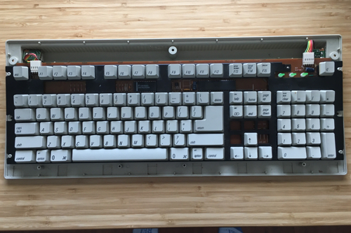 Open keyboard chassis